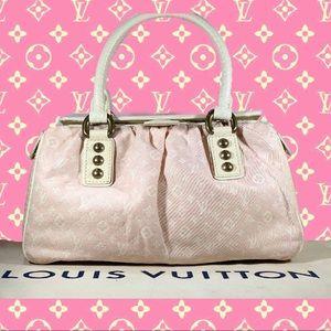 🌸 RARE Pink LV 🌸 Monogram Mini Lin Trapeze PM